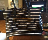Black/White Striped Bag in St. Charles, Illinois