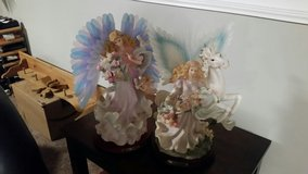 pair of fiber optic  lighted angels in Fort Knox, Kentucky
