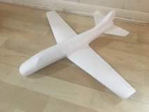 """Foam Glider Plane 22"""" Wingspan Hand Launched in Naperville, Illinois"""