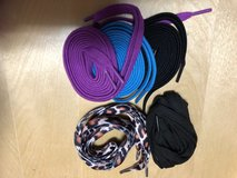 5 Sets shoe laces.  New in Okinawa, Japan