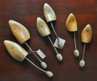 Italian vintage shoetrees (4), for men and women in Okinawa, Japan