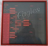 Framed 1976 Eagles Concert Program in Ramstein, Germany