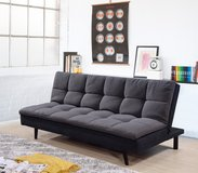 "BRAND NEW. URBAN PILLOWTOP ""CITY GREY"" SOFA BED FUTON SLEEPER in Camp Pendleton, California"