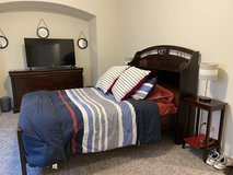 Houston Texans Wood Bed Frame, Solid Wood Dresser in Baytown, Texas