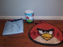 Angry Birds bathroom lot in Kingwood, Texas