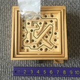 Like new! Wooden Labyrinth Tabletop Maze in Chicago, Illinois