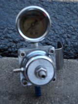 """OIL FILLED 2 """" GAUGE OF SOME KIND in St. Charles, Illinois"""