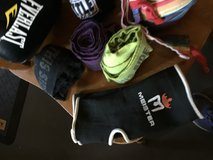 Boxing gloves with wraps in Fort Campbell, Kentucky