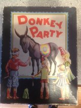 Antique 1940 Pin the Tail On the Donkey game in Naperville, Illinois