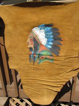 Leather painting in Aurora, Illinois