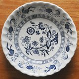 British plate-bowl by Johnson Brothers in Okinawa, Japan