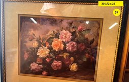 Flower Picture Home decor Wall Art in Norfolk, Virginia