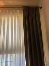 DRAPERIES CUSTOM LINED PINCH PLEATED EXCELLENT CONDITION in Naperville, Illinois