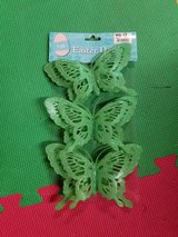 Glitter butterfly clips in St. Charles, Illinois