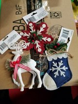 Christmas ornaments 1$ each in St. Charles, Illinois