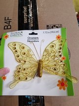 Clip on butterfly in St. Charles, Illinois