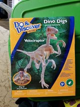 Dino dig in St. Charles, Illinois