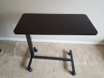 Bedside hospital type table with wheels in Morris, Illinois