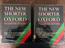 The New Shorter Oxford English Dictionary in Lakenheath, UK