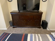 Solid Wood Dresser 7 Drawers in Baytown, Texas
