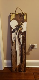 Handmade painted angel. in Orland Park, Illinois