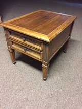 Solid wood end tables set of 2 in Morris, Illinois