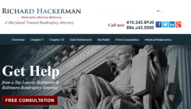 Get Help with Bankruptcy in Baltimore, MD in Bel Air, Maryland