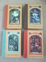 4 Hardcover Books - A Series of Unfortunate Events in Naperville, Illinois