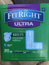 Adult briefs/diapers in Morris, Illinois