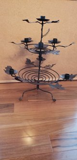 Metal Candle Centerpiece in St. Charles, Illinois