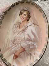 Collectible Plate & Bell, marriage of Prince Charles to Princess Diana in Kingwood, Texas