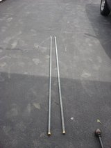 TWO SEVEN FOOT METAL CLOTHES LINE POLES in St. Charles, Illinois