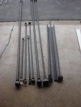 YOUR CHOICE OF DRAPERY RODS. in Naperville, Illinois