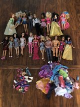 tons of Barbies and clothes in Las Vegas, Nevada