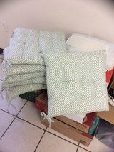 2     chair cushions  left in Alamogordo, New Mexico