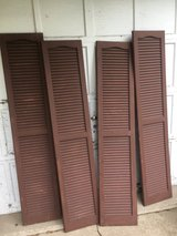 4 Louvered Shutters in Chicago, Illinois