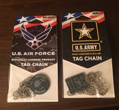 Army/Air Force Tag Chains in Joliet, Illinois