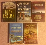 5 Hardcover Western Books. #126 in Fort Knox, Kentucky