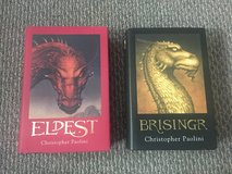 Like new! Giftable!  Eldest, Brisingr Hardcovers by Paolini in Naperville, Illinois