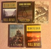 5 Hardcover Westerns. #133 in Fort Knox, Kentucky