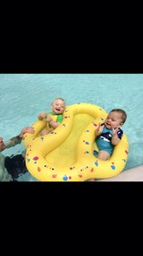 Twin Pool Float in Naperville, Illinois