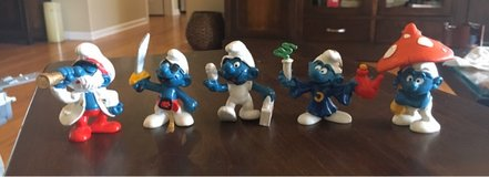 Vintage Smurfs in Joliet, Illinois