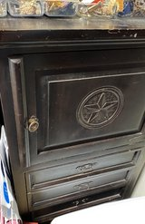 Jewelry Armoire-solid Wood -dark rustic in Baytown, Texas