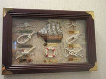 Shadow box with Mayflower and 6 knots identified in Conroe, Texas