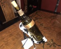 Cute high heel bottle holder with hand decorated lighted bottle in Chicago, Illinois
