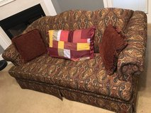 Love Seat pulls out to a bed in Warner Robins, Georgia