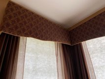 CORNICE FOR PATIO DOOR  UPHOLSTERED SIMILAR TO PICTURE in Naperville, Illinois