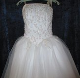 Prom Forever Yours Wedding Gown Long Dress size 1-7 in Fort Campbell, Kentucky