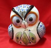 Mexican ceramic owl in Okinawa, Japan