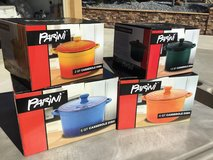 Vintage PARINI 5 and 4 and 2 and 1.5 qt Stoneware Casserole Dish Set in Travis AFB, California